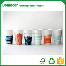 USA paper cups for clod paper cup DIY painterly paper cups