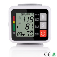 Good Quality LCD Digital Display Accurate Certificate CE/ISO13485 Wrist Blood Pressure Meter