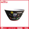 Holloween products large round modern family use plastic cheap decorative bowl