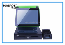 Touch portable pos system pos for lottery pos for bus solution
