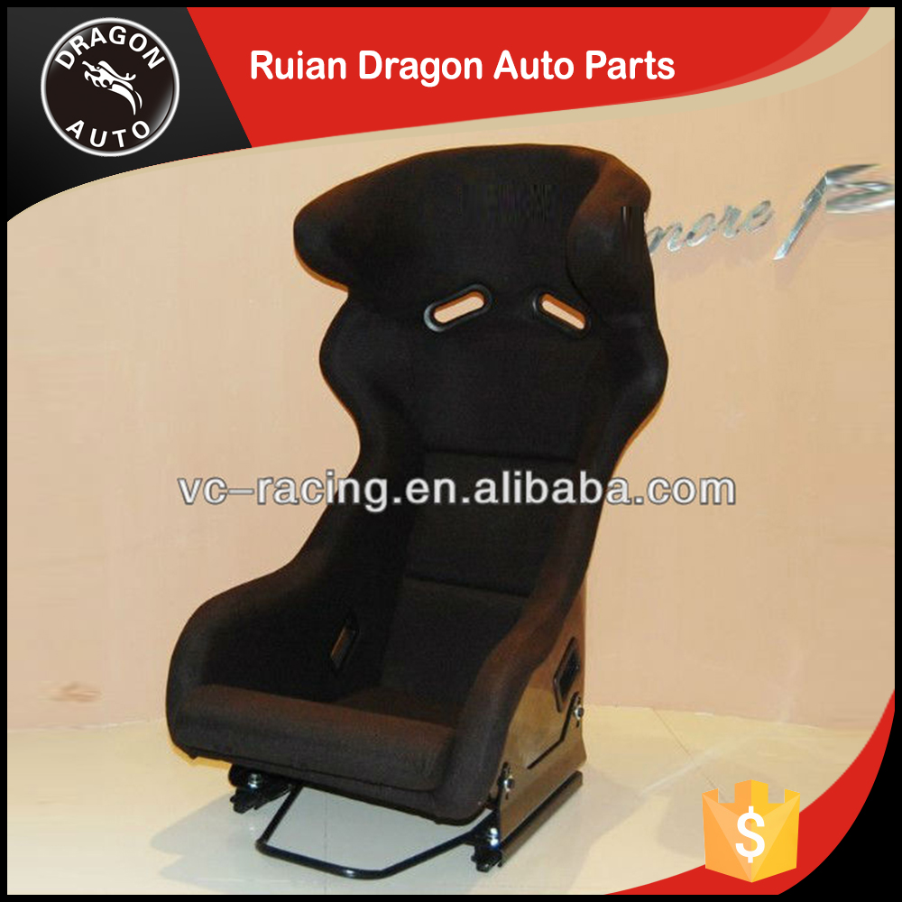 Monolithic construction of high durabilit universal car racing seat (Carbon fiber)