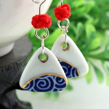 For Ladies Fashion Ceramic Earring Designs New Model