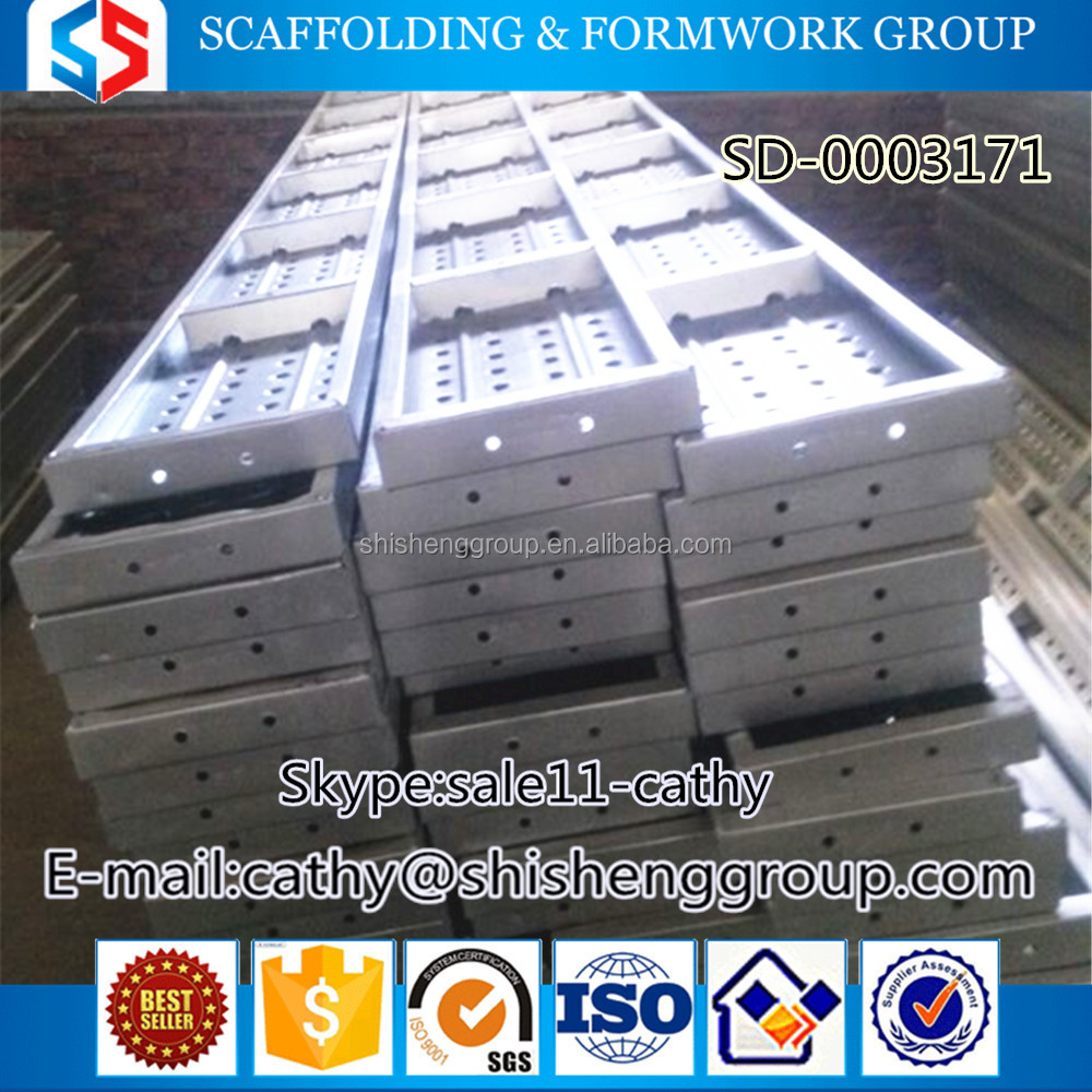 Tianjin SS Group scaffolding metal floor for ring lock Scaffolding System for construction