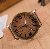 Creative leisure small pure and fresh and watch wood grain wrist watch fashion and personality