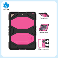 New Arrival 3 in 1 shockproof stand cover for ipad 2 3 4 tablet case