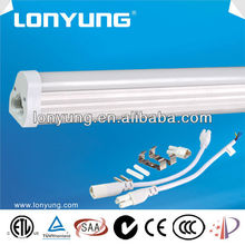 SAA TUV ETL CE Good quality 2ft 4ft 6ft 8ft 7W 10W 15W 21W led t5 fluorescent lighting connectors