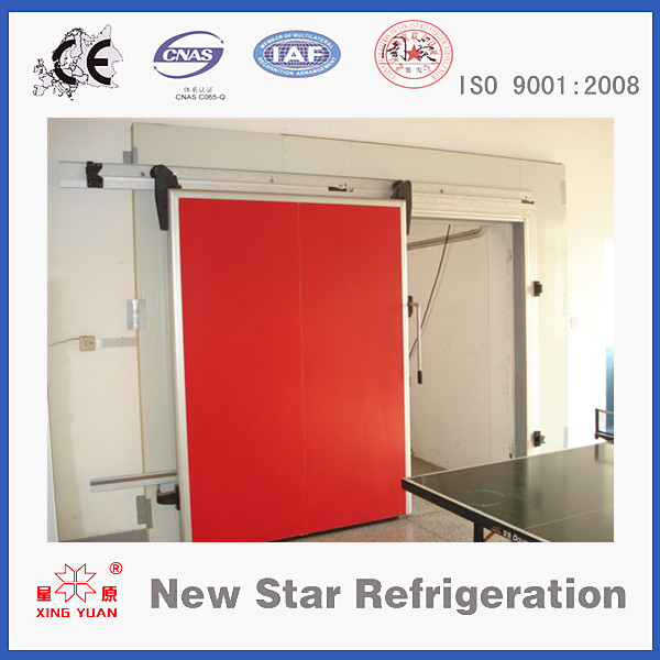 PU Sliding door for cold storage room