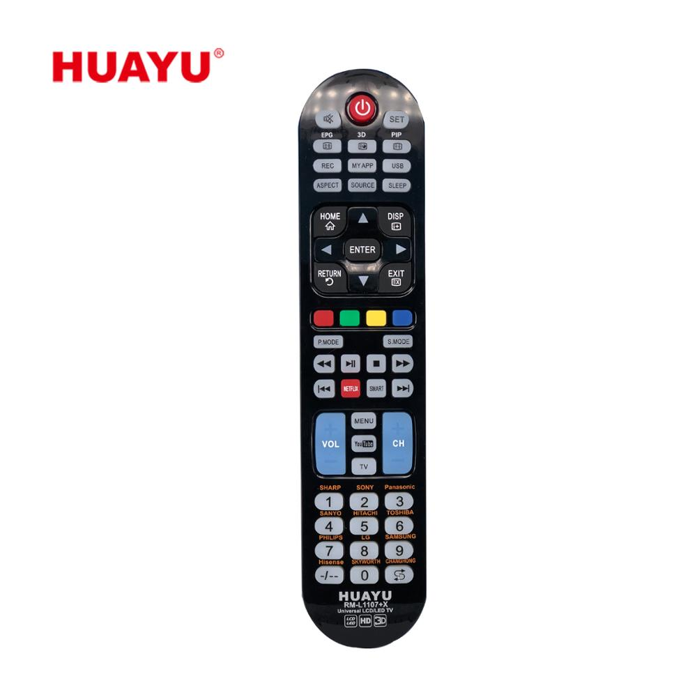 HUAYU RM-L1107+ <strong>X</strong> UNIVERSAL IR REMOTE <strong>CONTROLLER</strong>