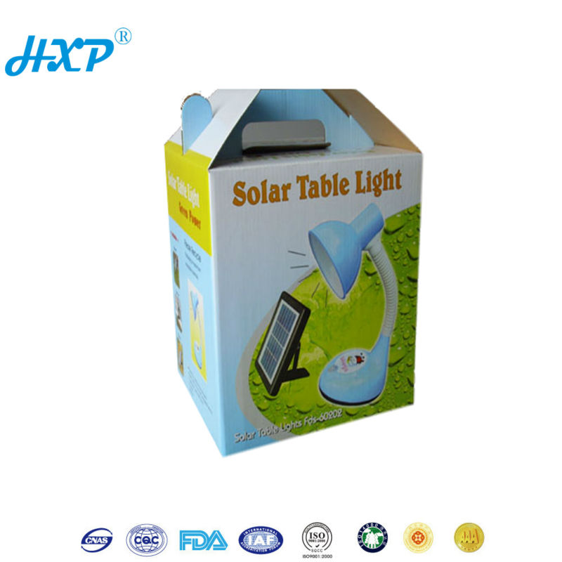 Wholesale folding paper electrical packaging box for table lamp, electrical box