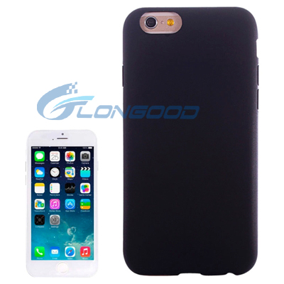 Pure Colour Silicone Cellphone Case for iPhone 6/6s 4.7""