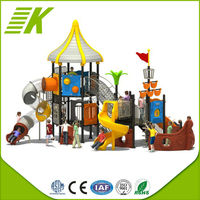 Funny Kids Outdoor Playground/Amusement Parks New Arriva Climbing Slide/European Standards Outdoor Play Land