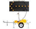 OPTRAFFIC Solar Traffic LED Arrow Sign Board LED Lamps