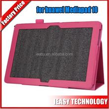 For Huawei Mediapad 10 link High quality leather case,leather case for Huawei Mediapad 10 link leather case