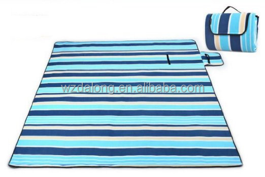 Portable Foldable Outdoor Blanket Mat with Waterproof and Sandproof Backing for Picnic,Beach, Traveling, Camping, Hiking