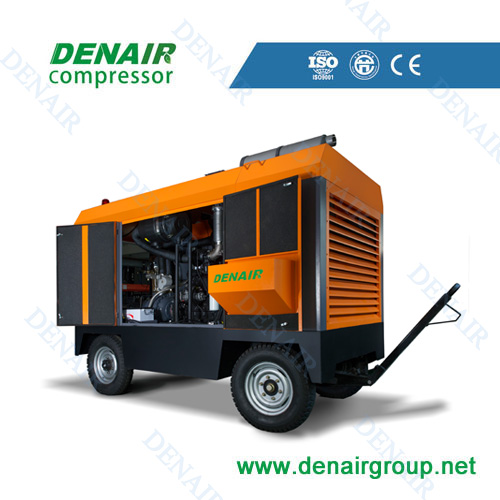 Grande capacite ,haute pression du compresseur d'air par diesel en promotion! Diesel mobile air compressor
