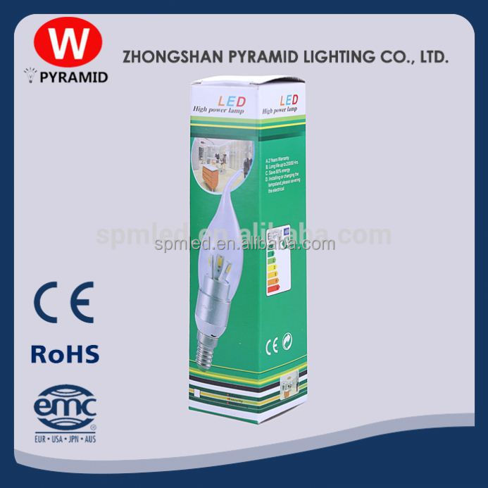 Led Candle Light With Ce&Rohs Clip