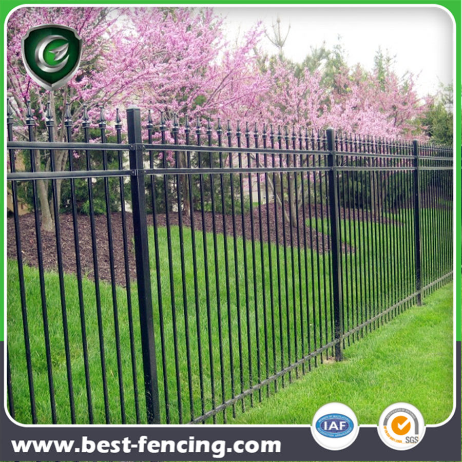 high quality cheap vinyl coating metal Garden Fence