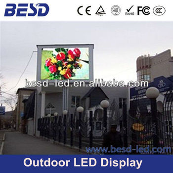 High brightness P16 full color outdoor advertising LED screen, P10, P16 advertising led billboard