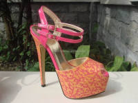 Printing platform 16cm very high heel shoes