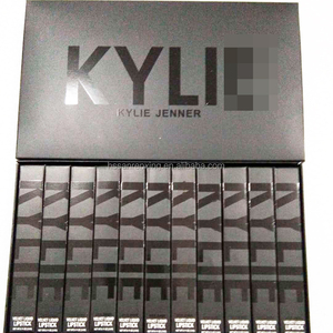 Hot sell Kyli Jenner 11 colors suit waterproof Liquid Lipgloss
