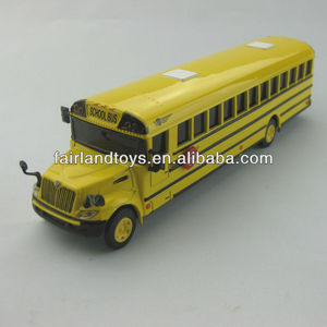 High quality OEM American school bus,die cast school bus model,metal bus toy