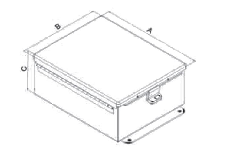 15ys experience 1200 employee ip66 electric aluminum junction box dcu enclosure power