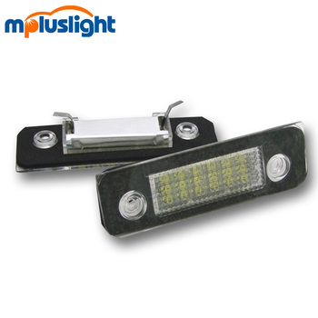 e46 12v 18smd car led license plate for ford Mondeo Fusion E8 emark