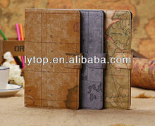 Map Wallet Stand Leather Case For Google Nexus 7