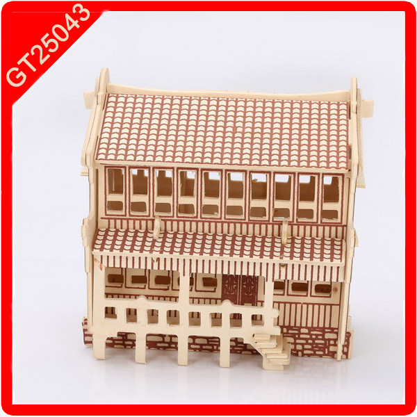 Bricks House miniature doll house
