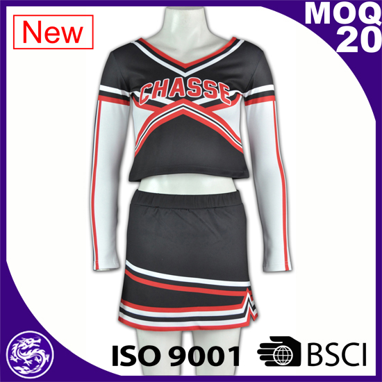 ITS Audited long sleeve cheerleading uniforms