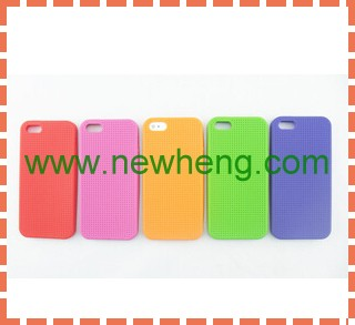 Best selling sublimation for iphone5 case silicon