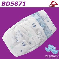 Fast Delivery Good Absorbtion High Quality Low Price Disposable Baby Diaper Manufacturer with BD5871 from China