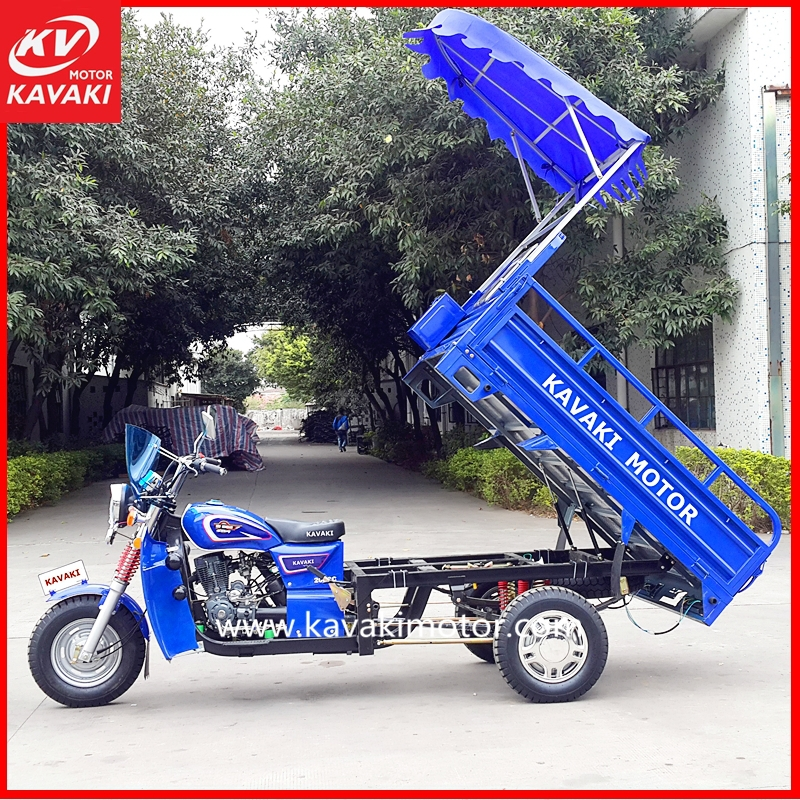 Chinese three wheel motorcycl electric cargo tricycle with roof / cargo motorcycle with three wheel