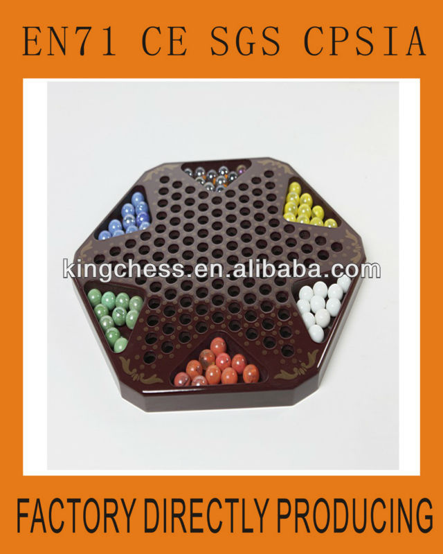 Chinese checkers set board game
