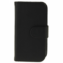 Blue tooth 3.0 Removable Keyboard Leather Case with Holder for Samsung Galaxy S III / i9300(Black)