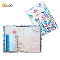 Encai Colorful Bird PU Passport Cover Travel Tickets Cards Passport Holder