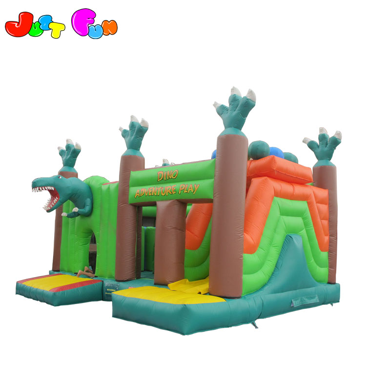 big popular dragon inflatable obstacle course inflatable combo for children and adults