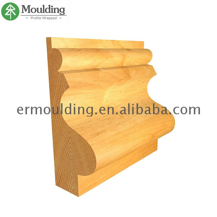Professional MDF/solid wood /LVL /finger joint board Wooden Shoe Mouldings with cheapest price