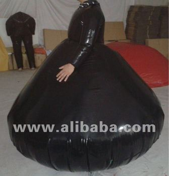 inflatable ladies ball gown