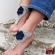 Crochet Barefoot Sandles, Foot jewelry, Wedding, Crochet Sandals