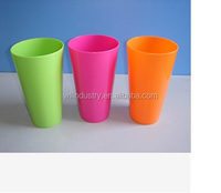 Plastic Injection Molding Reusable Custom Plastic Cup in high quality