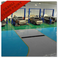 Caboli epoxy polyester resin oil based floor paint