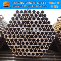Black hollow metal steel tube