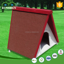 Home & garden Wooden dog cage waterproof dog Shelter A-frame Classic style puppy unique dog kennels Environmental Asphalt Roof