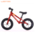 High quality best pink gradual riding training on push toddler balance bike with brakes