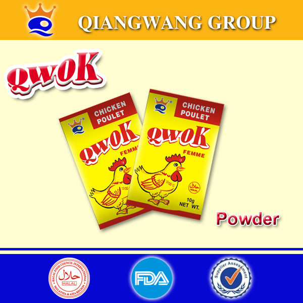 10g/bag QWOK HALAL CHICKEN FLAVOUR STOCK POWDER