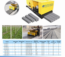 Precast reinforced concrete Piles/ concrete post concrete Pillar machine