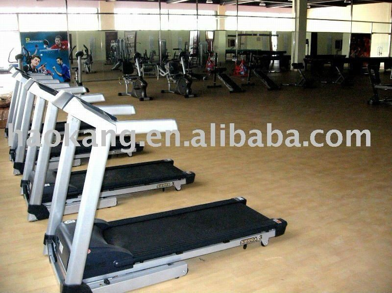 Custom-made Fitness Center functional floor