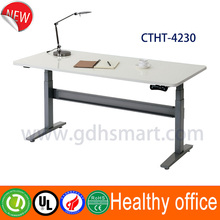 Contracted type electric hoist's desk office table executive desk Random height and angle adjustment
