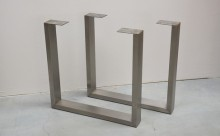 u shape metal stainless steel table legs